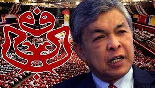 PAU 2015: Muhyiddin kekal duduk sebelah Najib