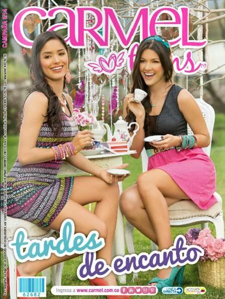 catalogo carmel teens campaña 5 2014