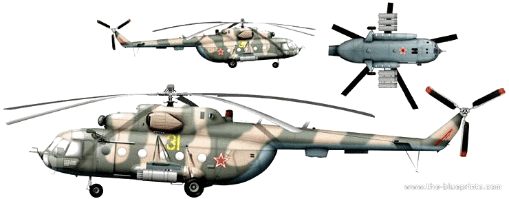Mil Mi-8 Medium Transport Helicopter | Military-Today.com