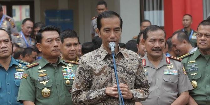 Pesan Jokowi Untuk TNI & Polri tingkatkan intelijen, cegah teroris