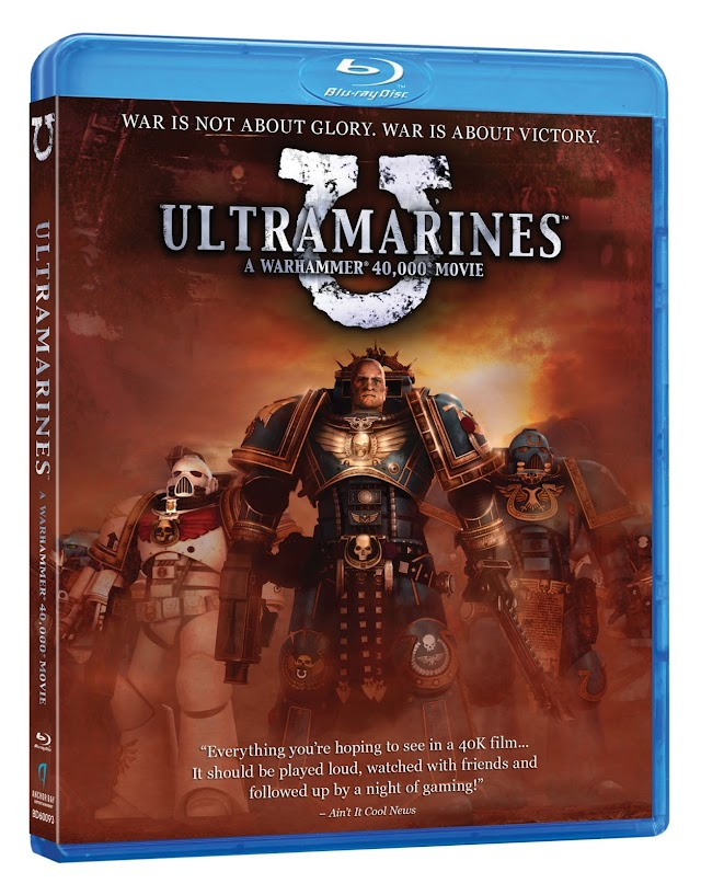 Ultramarines: Released to Blu-Ray and DVD March 5th