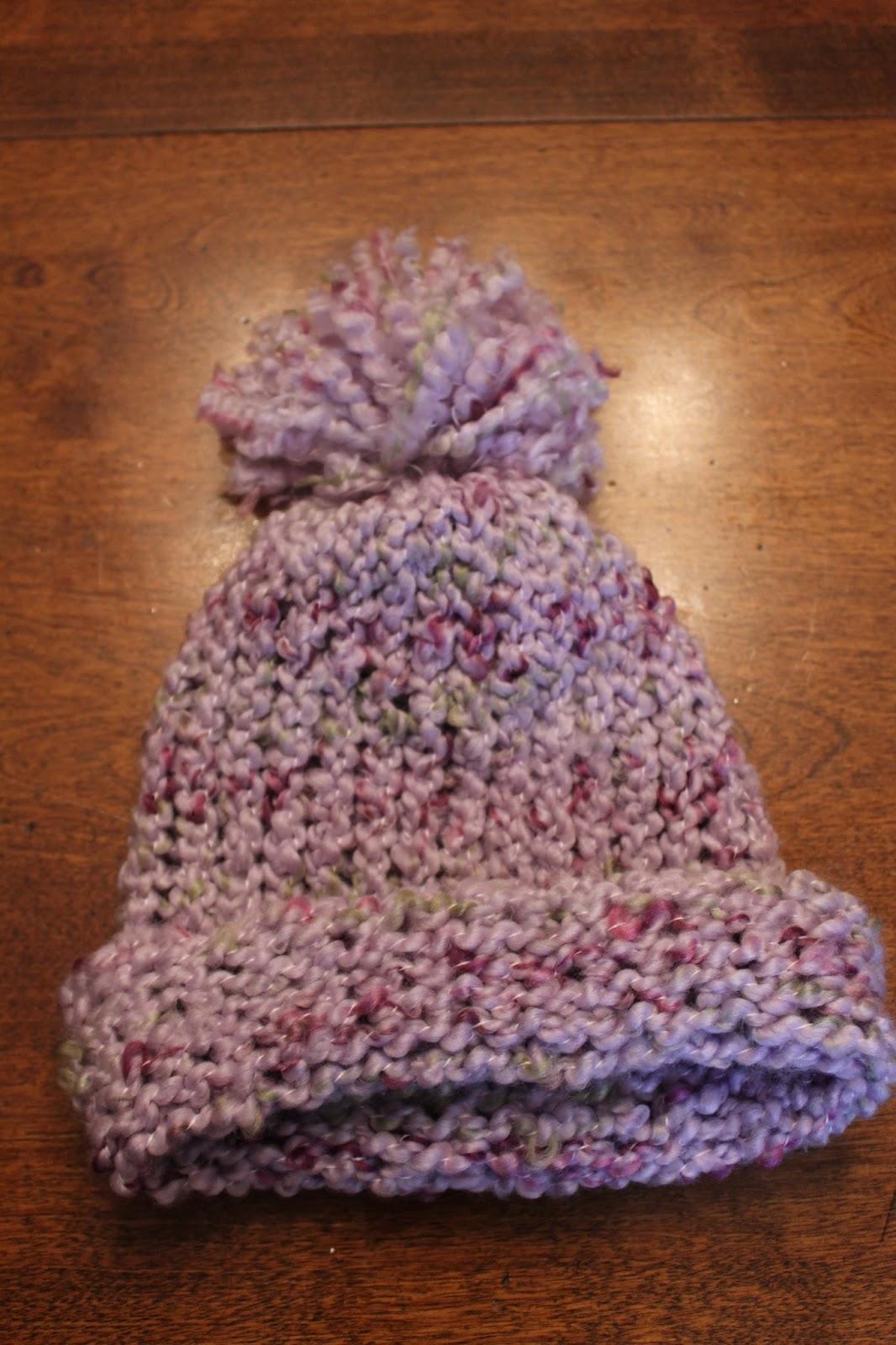 knitting loom hat instructions