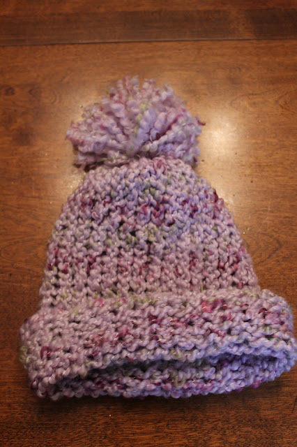 Knitting Supplies Near Me : My creative mommy knitting a hat on loom and adding