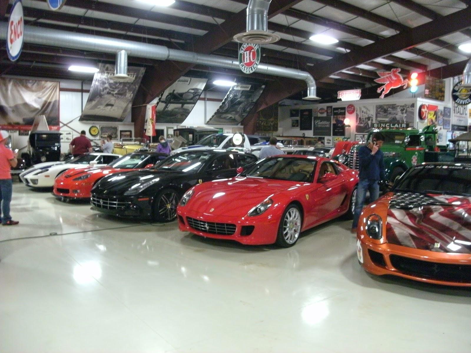 Luxury caravan with full size sports car garage from futuria - An Ac Pre Cobra