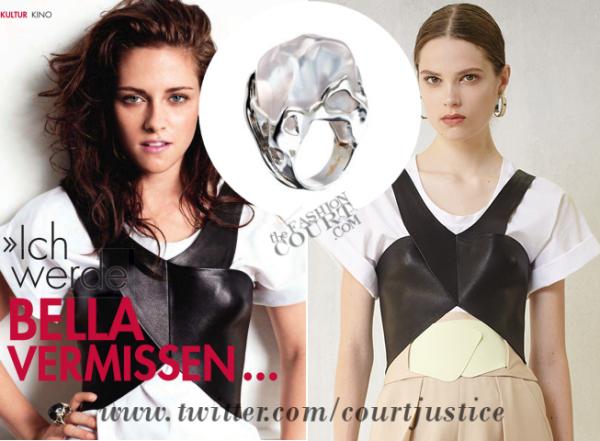 Vestuario de Kristen en la edición de Woman Magazine (Alemania) 663927107