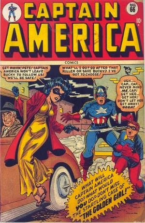 Captain America Comics #66 comic cover