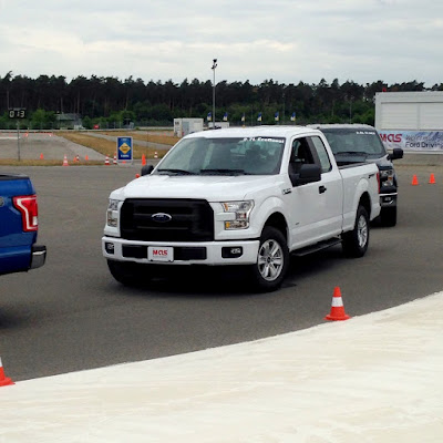 U.S Military Personnel Take The Mustang And F-150 Out In Germany