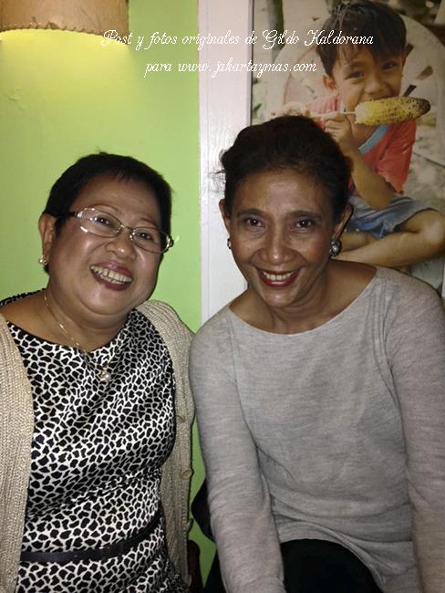 Con la ministra de pesca de Indonesia