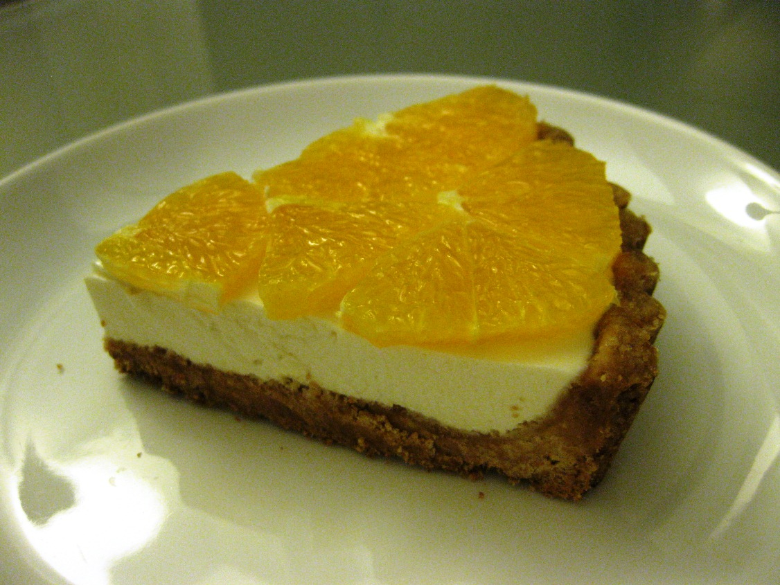 Fresh-Orange and Yogurt Tart