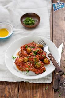 Bitki wołowe w pomidorach