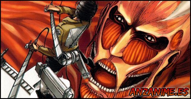 Shingeki no Kyojin Manga Tomos Descargar Español