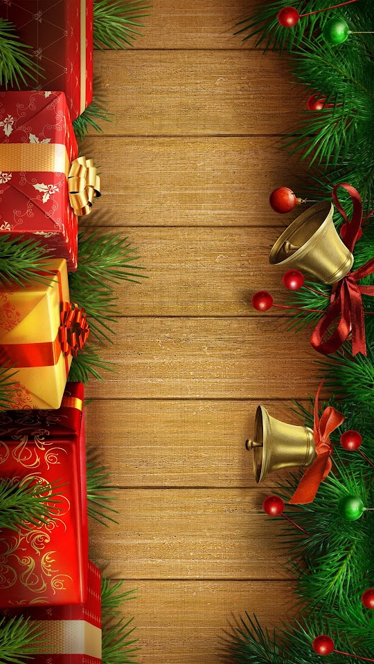 Christmas Presents and Decorations  Galaxy Note HD Wallpaper