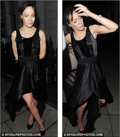 It was a good night then? Tara Palmer-Tomkinson looks a