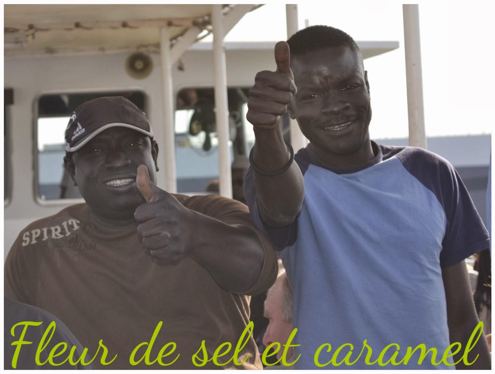 Guides Dédé et Pompidou - Sénégal
