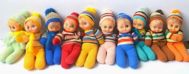 Coleção de Bonecas Fofolete. Brinquedos Estrela. Sucesso nos anos 80.
