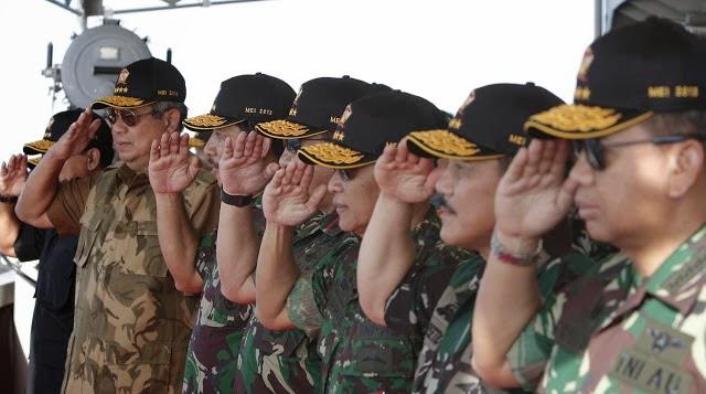 Presiden SBY : Tak Perlu Khawatir Modernisasi Senjata RI