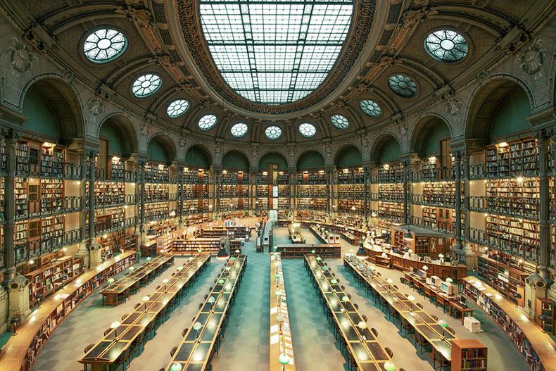 La majestuosa belleza de las antiguas bibliotecas capturado por Franck Bohbot