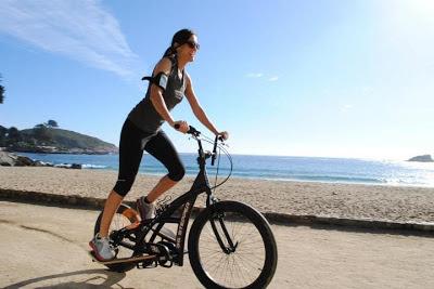 Deportes para Adelgazar Chica en Bicicleta