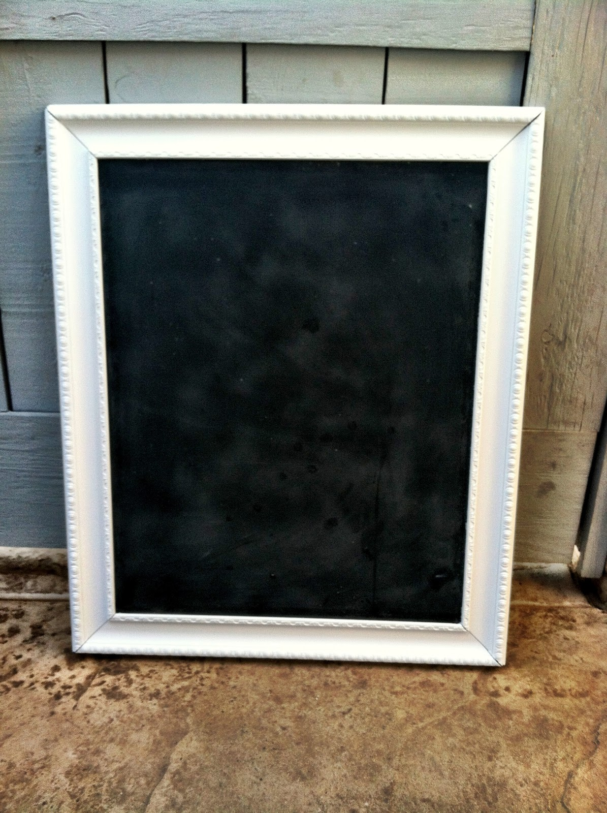 ampersand diy large framed chalkboard On large framed chalkboard