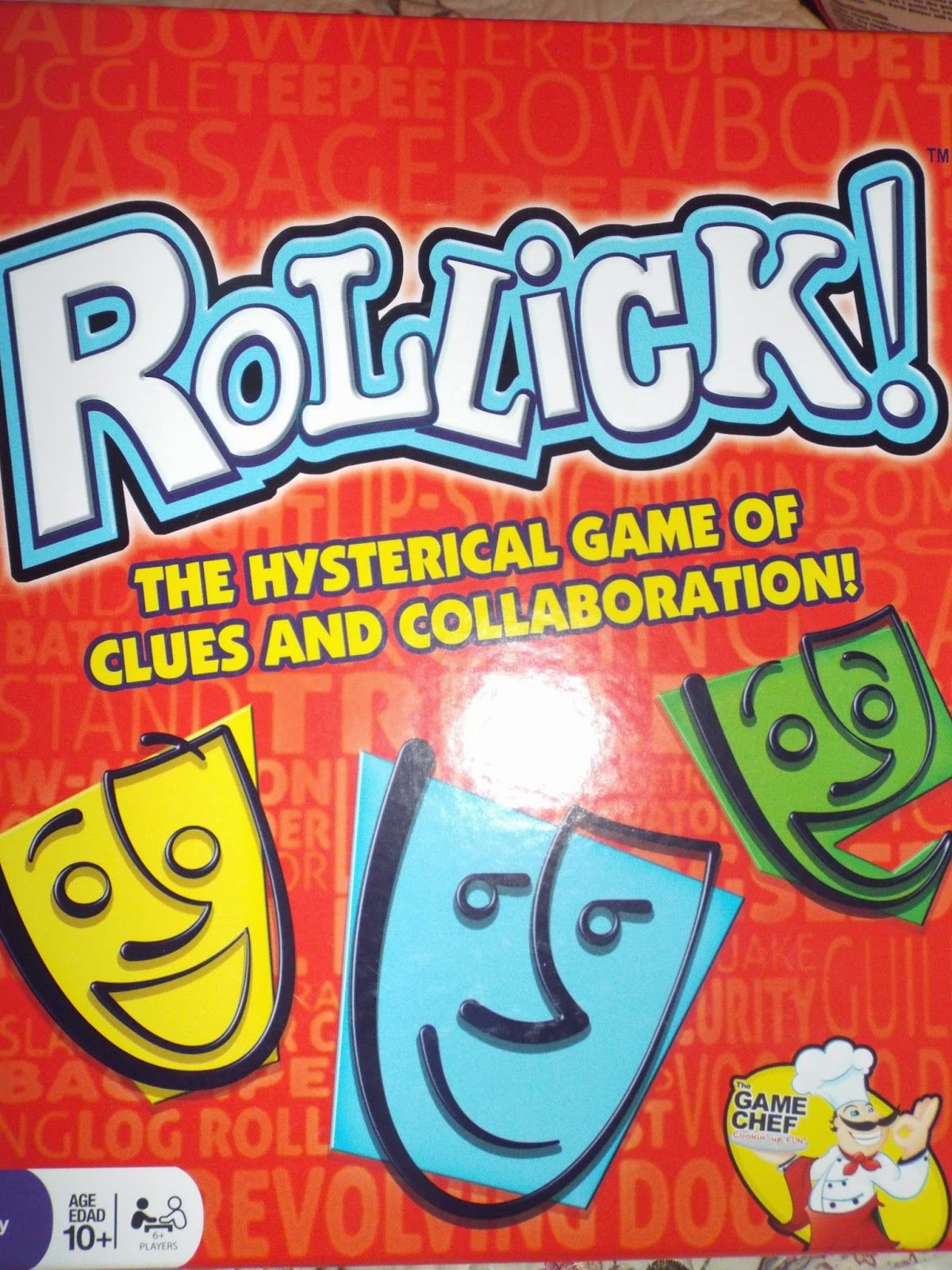 The Game Chef: Rollick