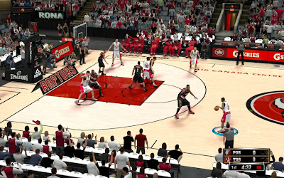 NBA 2K13 Toronto Raptors Court Patch Update