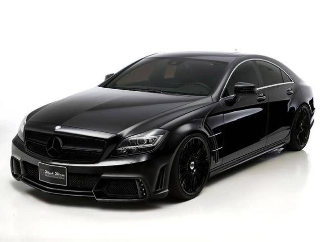 2012 Wald Mercedes-Benz CLS AMG Black Bison
