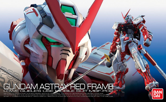 Real Grade Gundam Astray Red Frame Box Art