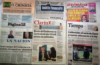 Jornais argentinos
