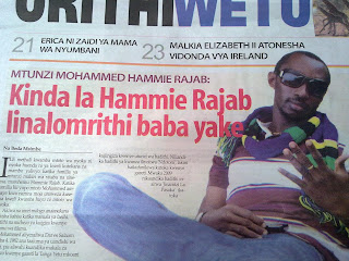 ASANTE HABARI LEO KWA KUNIONA!