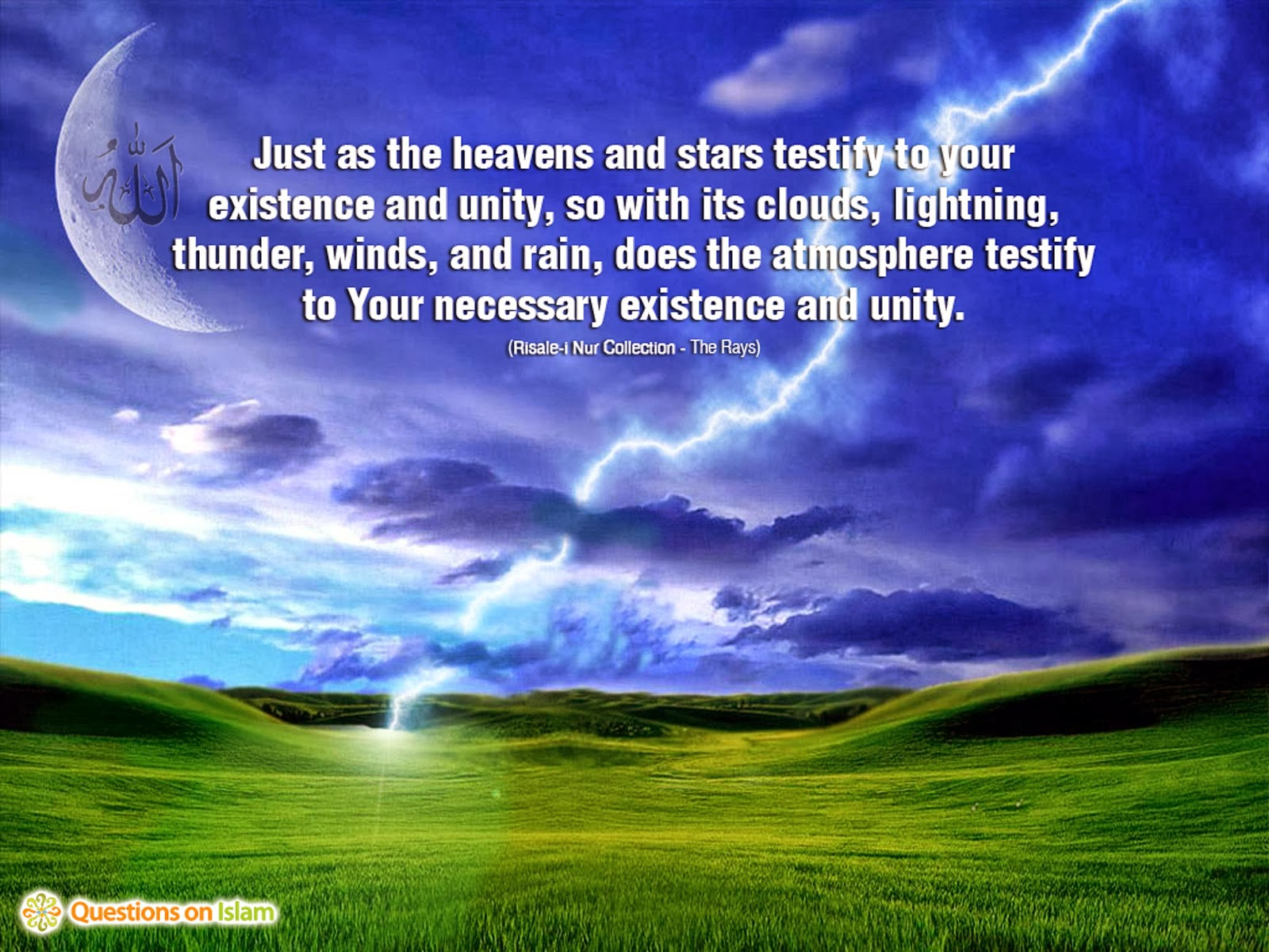 "unity and islam The foundation of all ""religions"" is the same principle, and that is the principle of  unity the prophets came with the good news that there is a god and each."