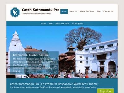 Catch Kathmandu WordPress Themes
