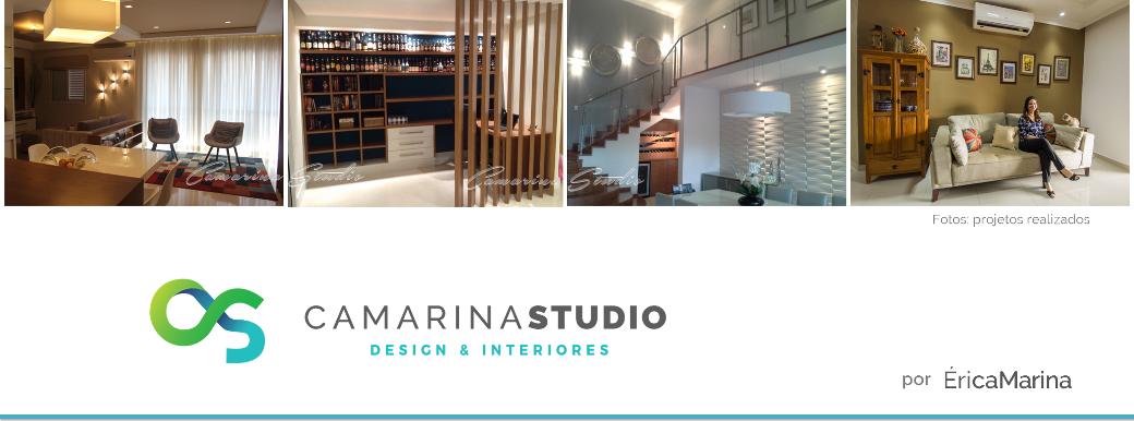 Camarina Studio - Design de Interiores por Érica Marina | Ribeirão Preto