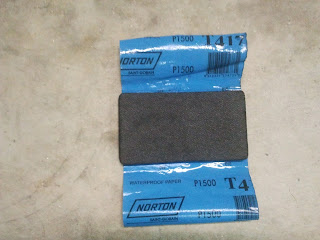 Soft rubber sanding block