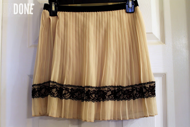 {The UNDONE Blog} Pleated Skirt