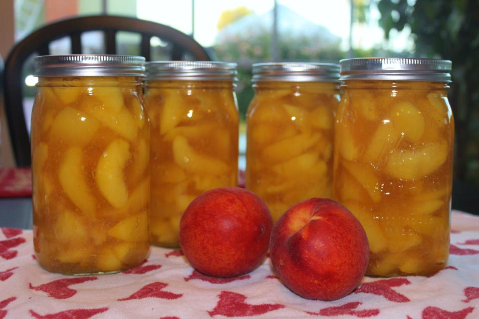 peach pie filling is better from jars canning homemade