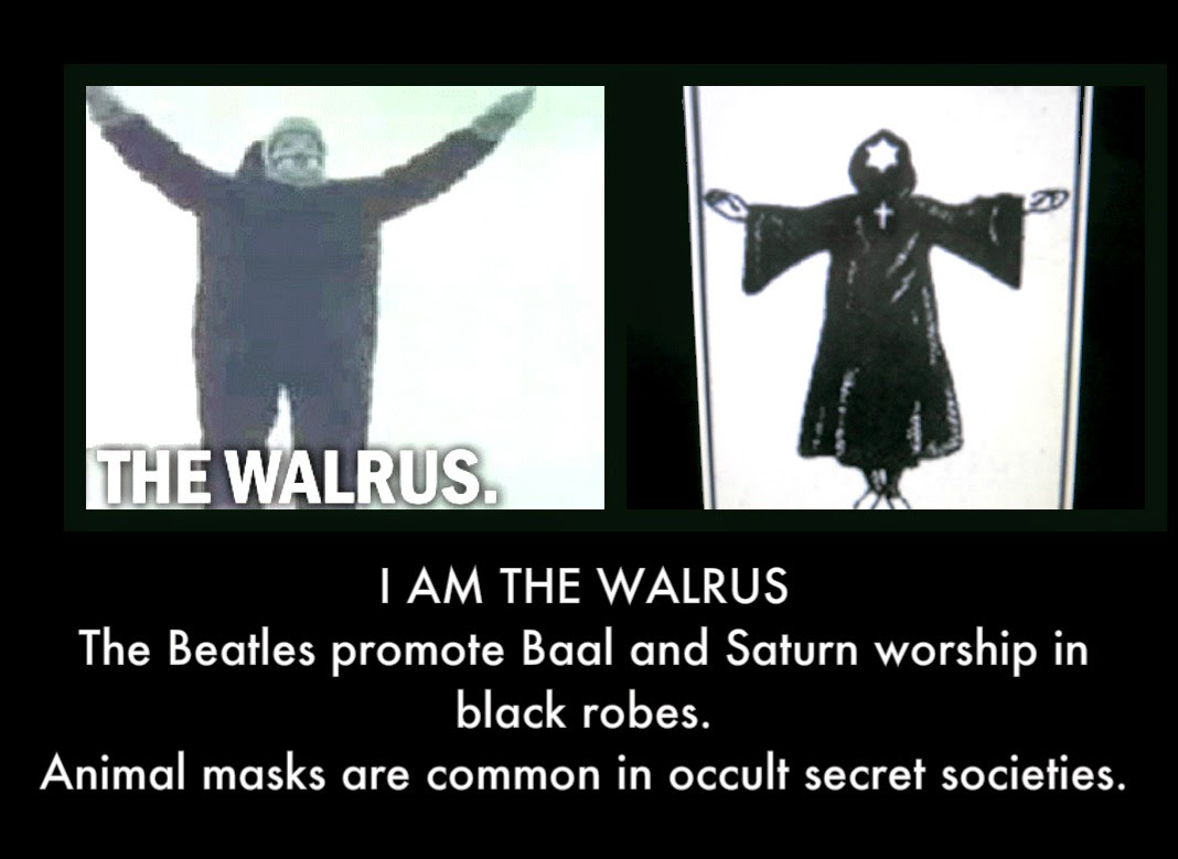 Whats Wrong With The Beatles Alot Occult Symbols Of The Beatles