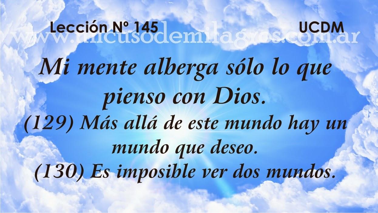 Leccion 146, Un Curso de Milagros