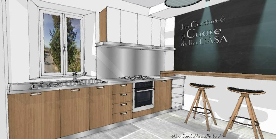 Una casasumisura per loro marzo 2014 for Disegnare cucina 3d online