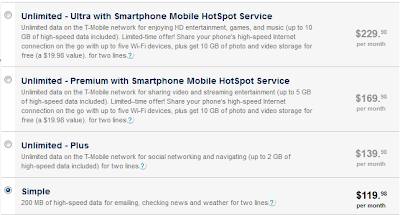 T-Mobile Family Plans
