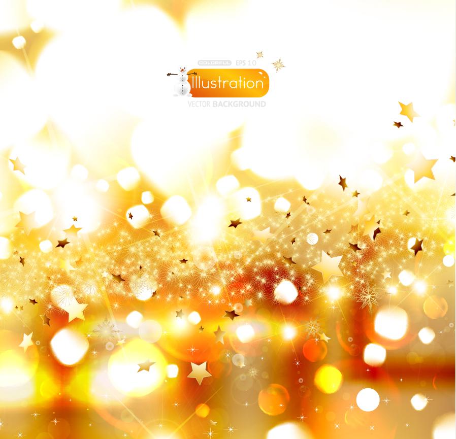 すべての講義 アルファベットノート : 金色に輝くクリスマスの背景 ...