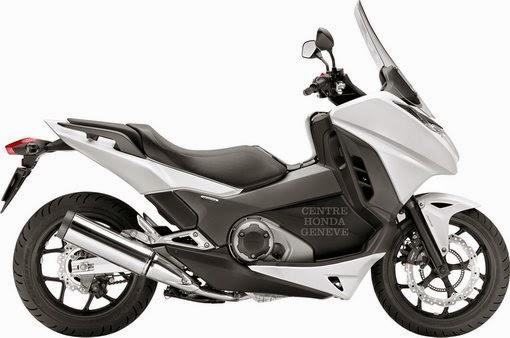 Honda NC750D Integra (2014)