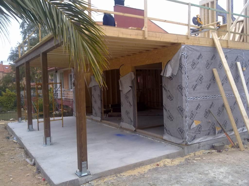 Construcci n de casa de madera en zaragoza dpv - Construccion zaragoza ...