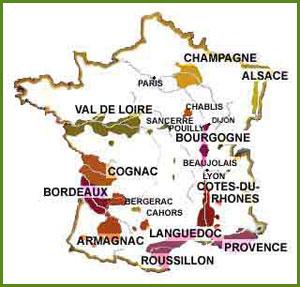 Cognac Region Of France Map.Schiller Wine Cognac An Introduction France