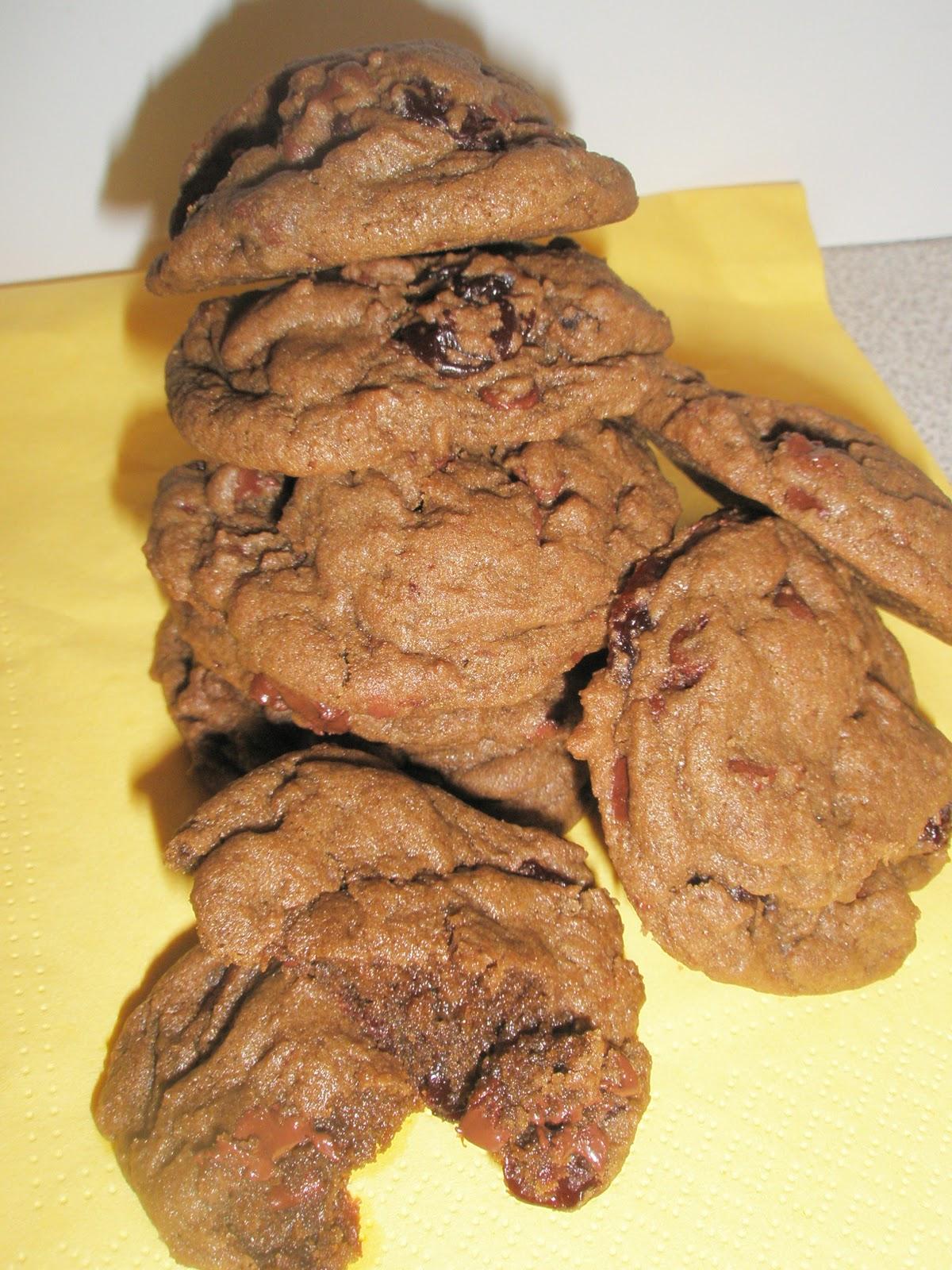 Got it, Cook it: Cherry Chocolate Chunk Cookies (Black ...