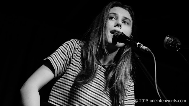 My favourite Concert Pictures of 2015 Wolf Alice at The Drake Underground Photo by John at One In Ten Words oneintenwords.com toronto indie alternative music blog concert photography pictures