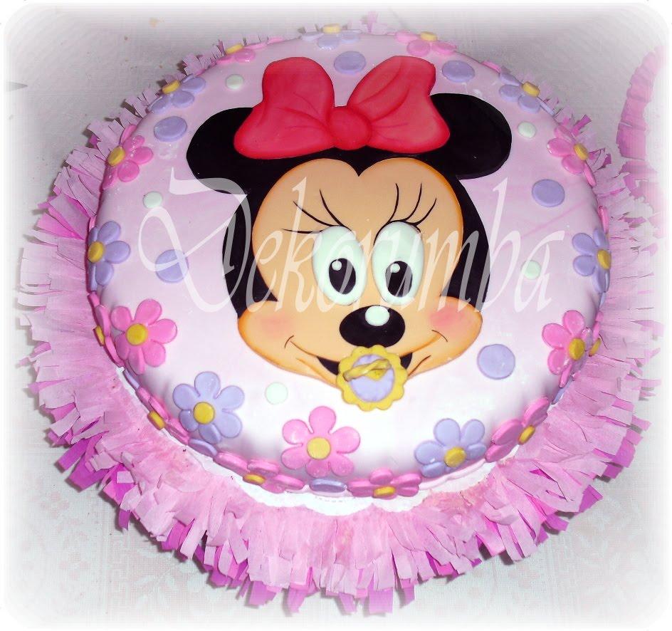 DekoRumba: Torta - Minnie bebe