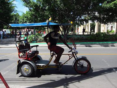 Santiago de Cuba pedicab