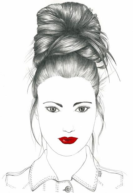 lne cayre fashion illustrations