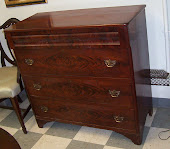 Beautiful mahogany chest