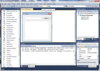 Read a text file in Visual Basic